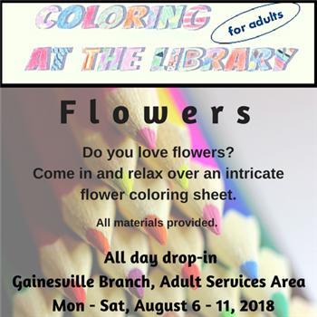 Coloring Week For Adults Forsyth County News
