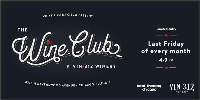 Moderne The Wine Club at VIN 312 Daily Herald Calendar MQ-78