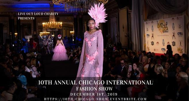 10th Annual Chicago International Fashion Show Daily Herald Calendar