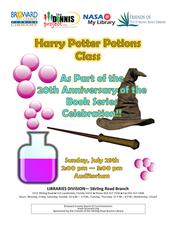 Miami On The Cheap >> Harry Potter Potions Miami On The Cheap All Events