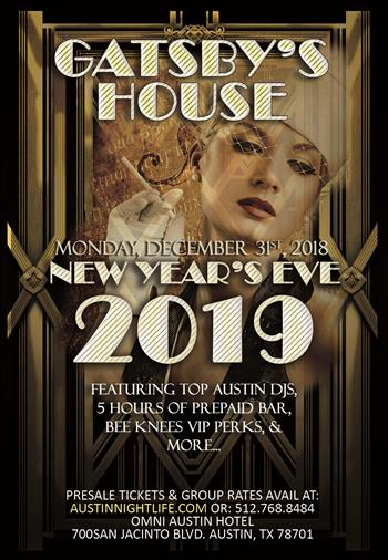 Austin New Years Eve 2020.Gatsby S House Austin New Year S Eve 2020 Kxan Calendar