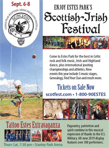 Longs Peak Scottish Irish Highland Festival Estes Park Events