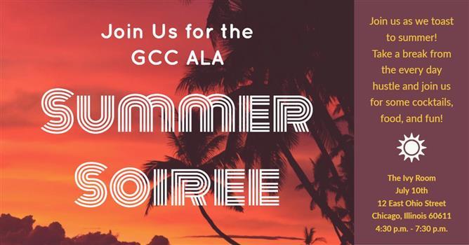GCC ALA Summer Soiree! Daily Herald Calendar