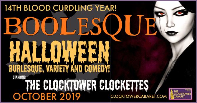 Halloween Boo-Lesque & Comedy Show 2020 Boolesque: Halloween Burlesque and Comedy The Know