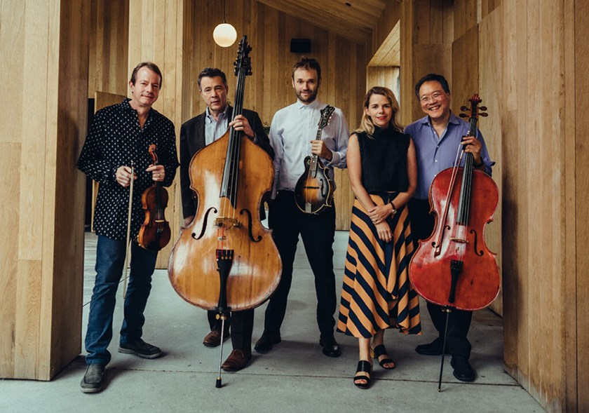 Not Our First Goat Rodeo: YO-YO MA, STUART DUNCAN, EDGAR MEYER, CHRIS THILE  with guest AOIFE O'DONOVAN Vail Events